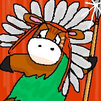 ろばろばインディアンアニメ版